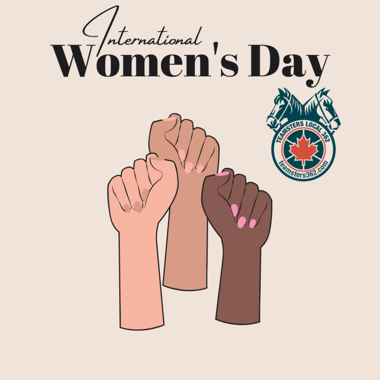 International Women's Day – Inequality Must be Curbed