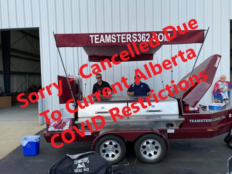 BBQ Cancelled Due To Current Alberta COVID Restrictions